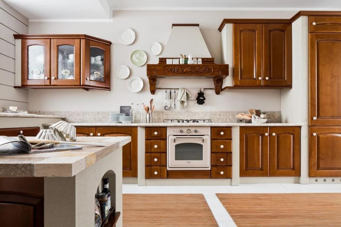 Cucine in muratura pregi e difetti