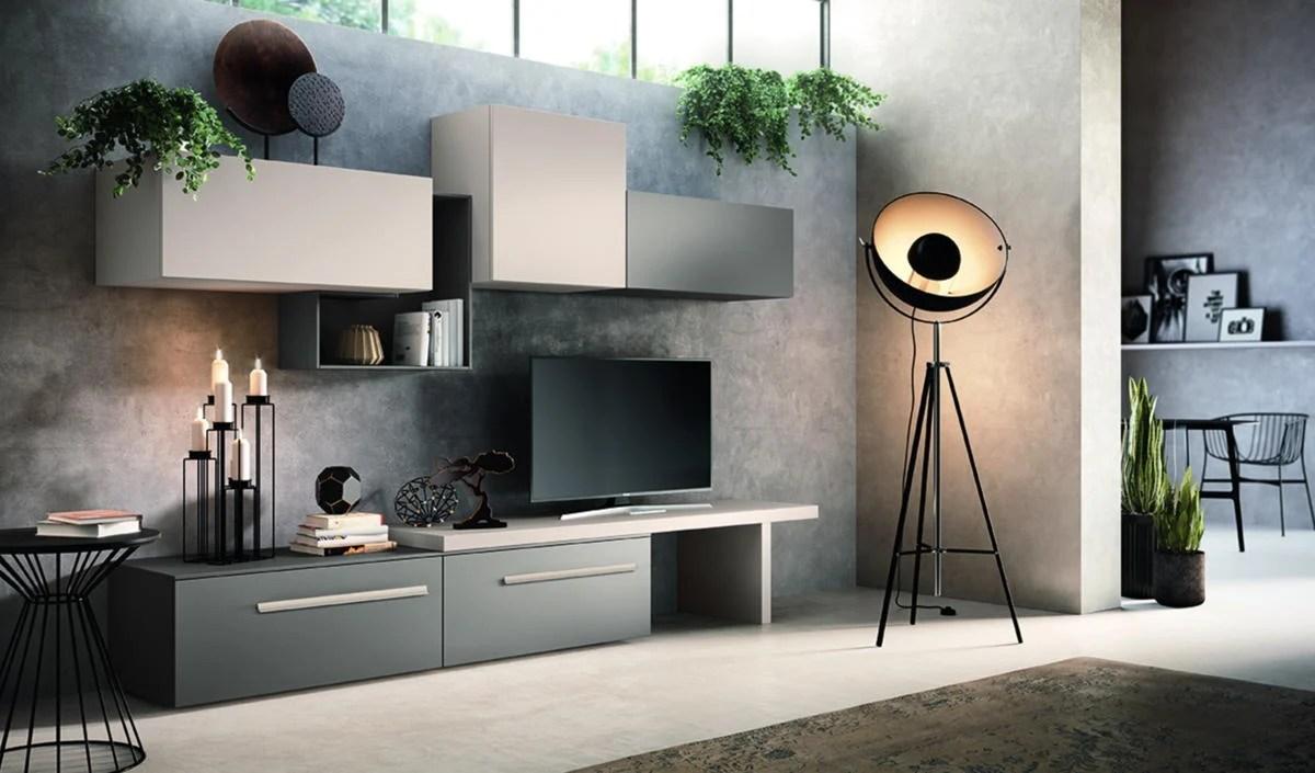 Pareti attrezzate economiche e mobili modulari senza rinunciare alla qualità,. Pareti Attrezzate Casa Soluzioni E Novita