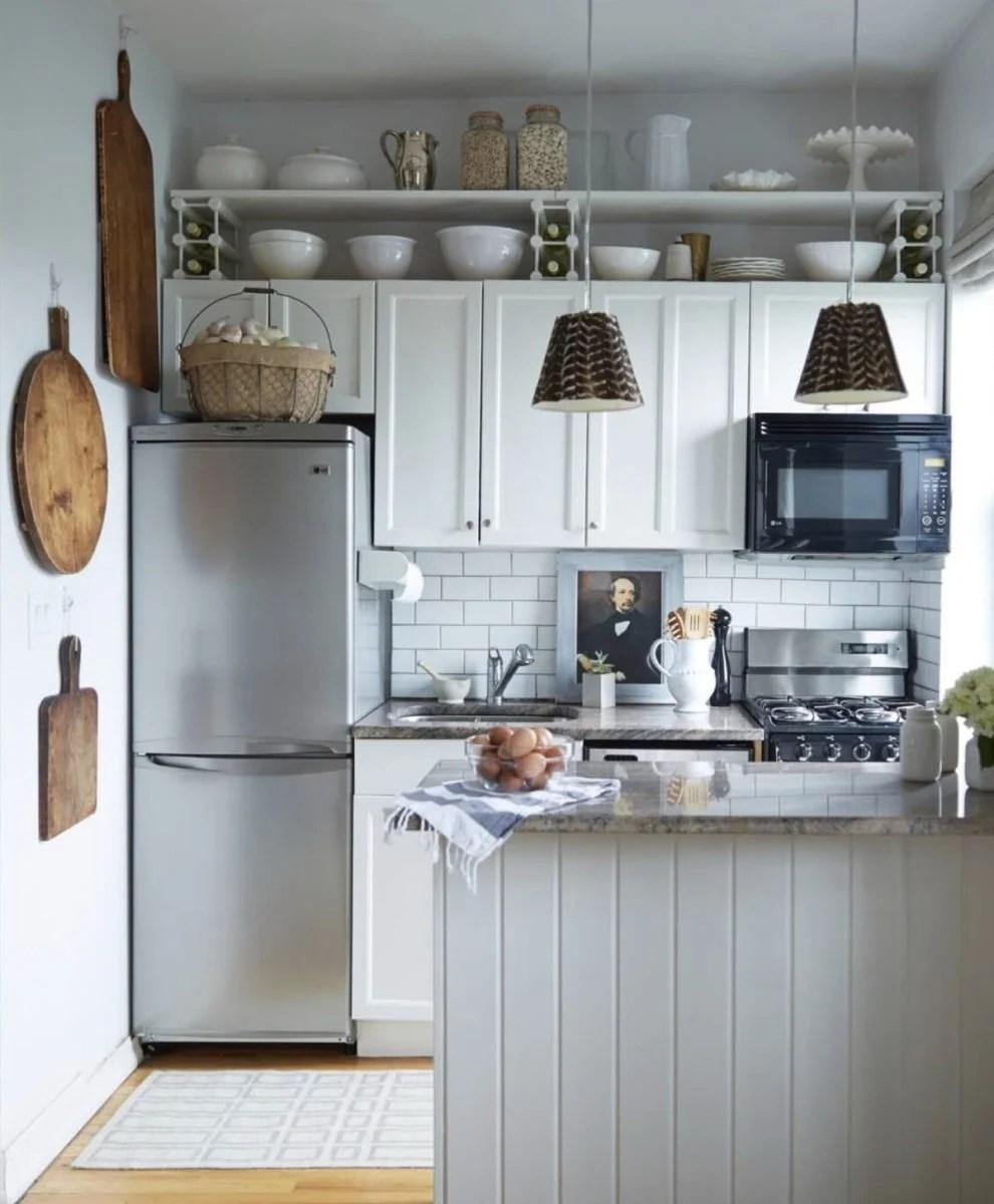 Spazio alla creatività ed alle idee! Arredare Cucina Piccola 21 Migliori Idee