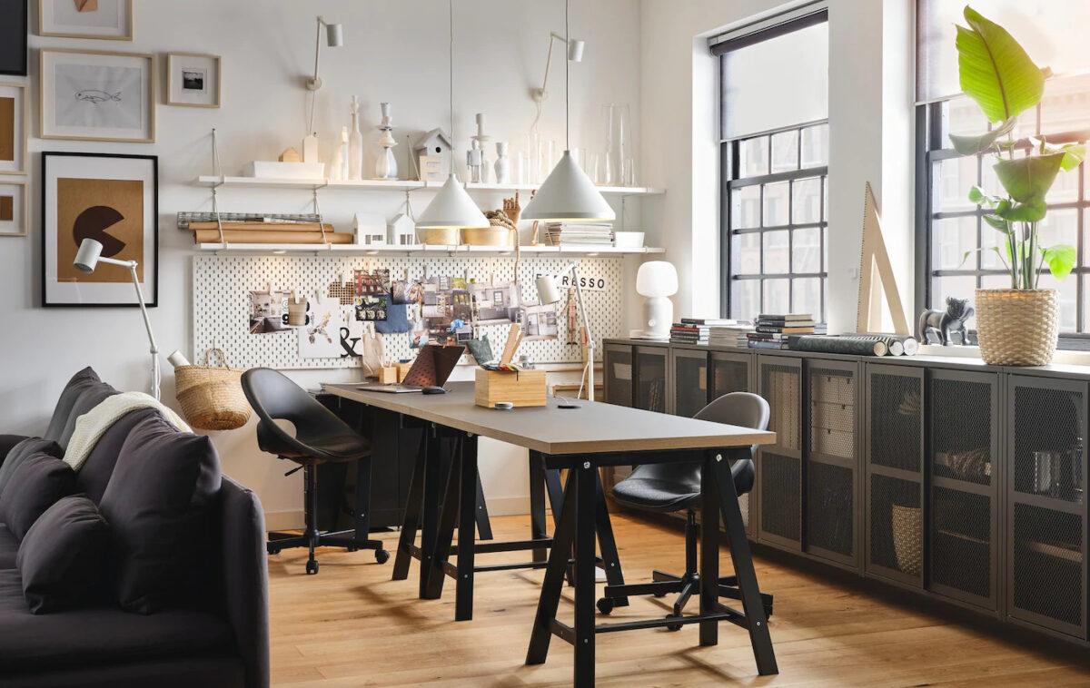 Ottime sedie da ufficio in vissle grigio scuro. Ikea Ufficio 2021 Le Novita Del Catalogo Ikea Riservate Alla Zona Lavoro