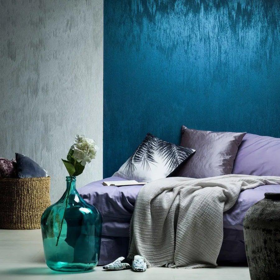 Pittura decorativa per interni effetto microcemento 8kg 10mq grigio facile. Pittura Decorativa Per La Camera Da Letto
