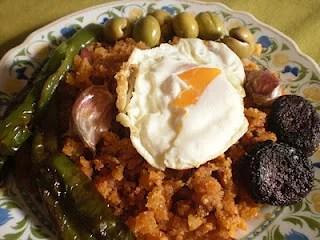 Migas comida de invieno en Andalucía