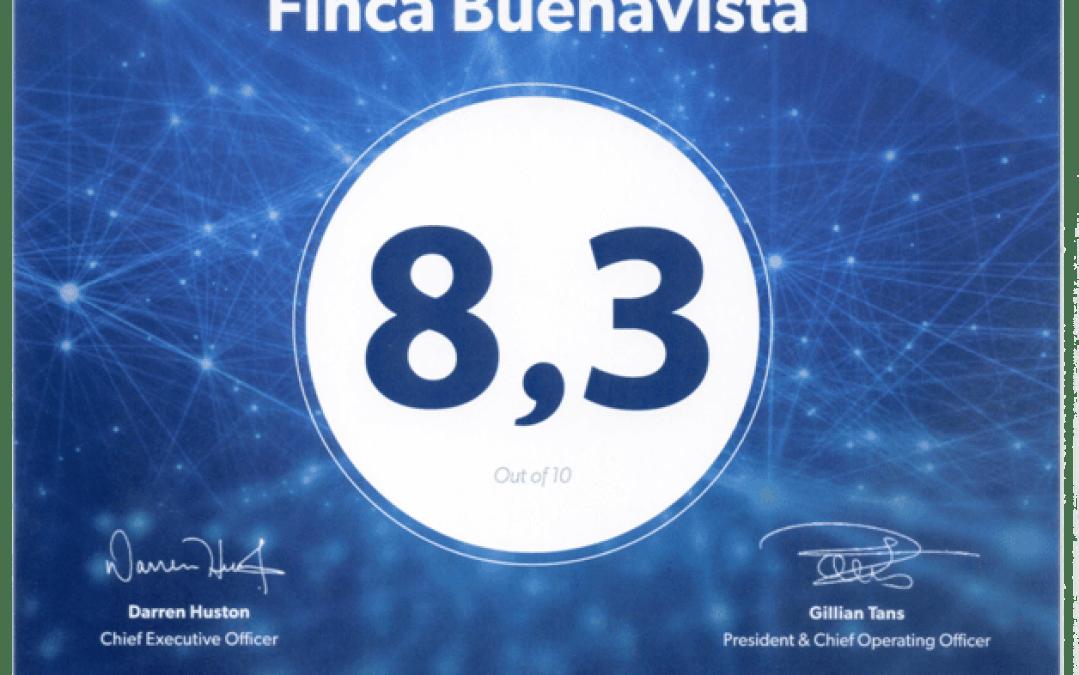 Los clientes de Booking otorgan valoran a Finca Buenavista