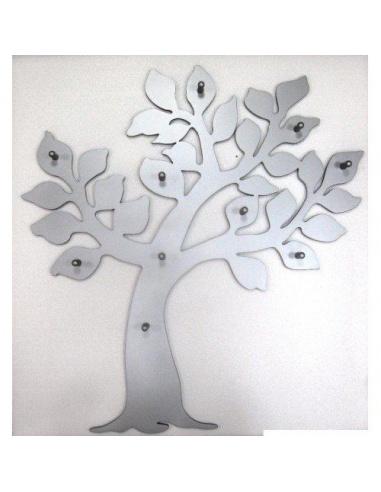 Appendiabiti da parete in legno a forma di albero di Maiuguali