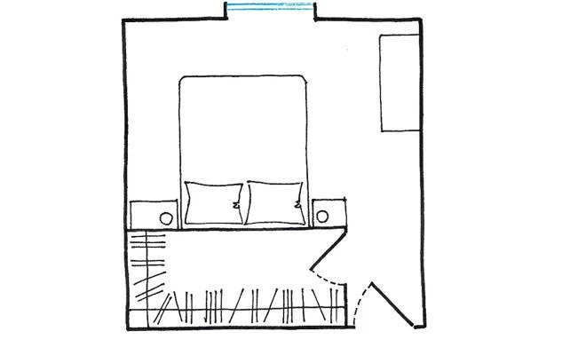 La cabina armadio 10 progetti a seconda della tua camera