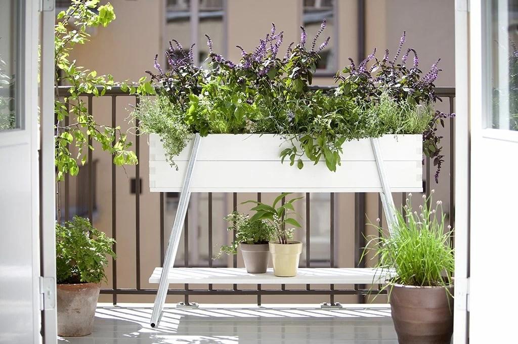 Balcone piccolo 12 idee per spazi small  CASAfacile
