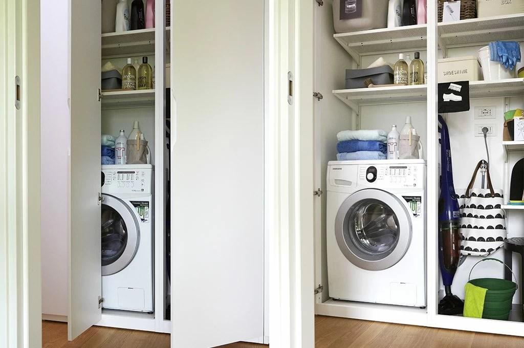 5 trucchi per organizzare la mini lavanderia  CASAfacile