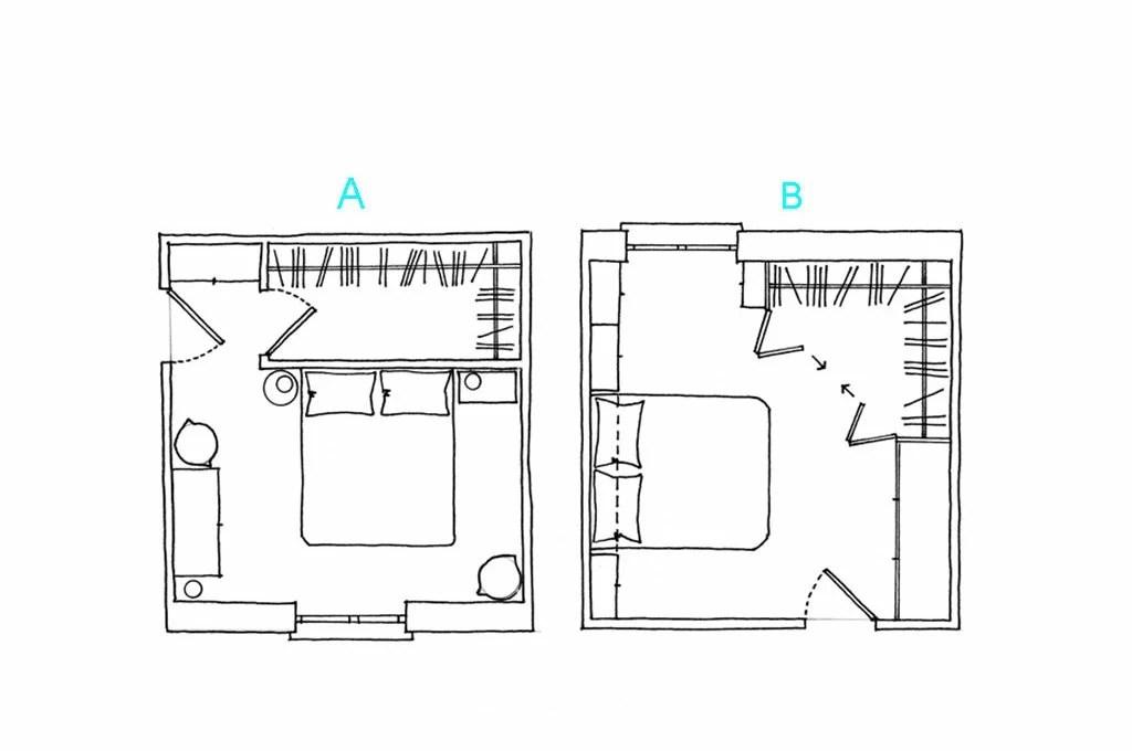 Come progettare una cabina armadio ad angolo  CASAfacile