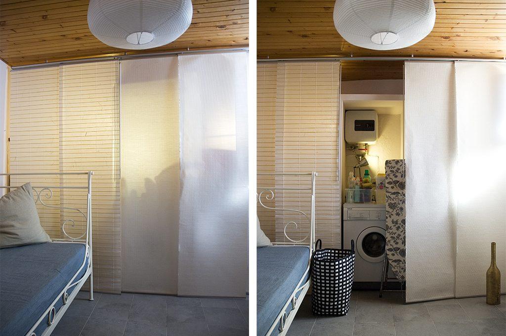 12 soluzioni con una tenda cabina armadio lavanderia ripostiglio  CASAfacile