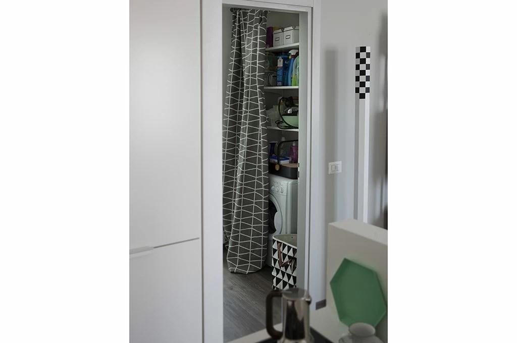 12 soluzioni con una tenda cabina armadio lavanderia