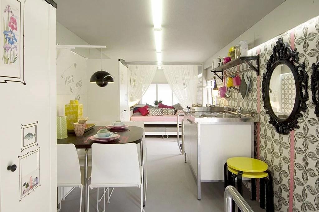 Arredare un camper come un monolocale lezioni di stile in spazi piccoli spazi  CASAfacile