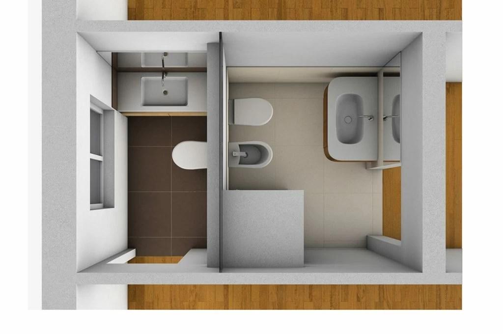 Creare secondo bagno lavanderia e cabina armadio in pi