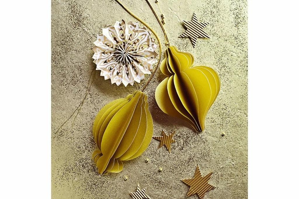 Decorazioni di Natale da stampare le palline origami  CASAfacile