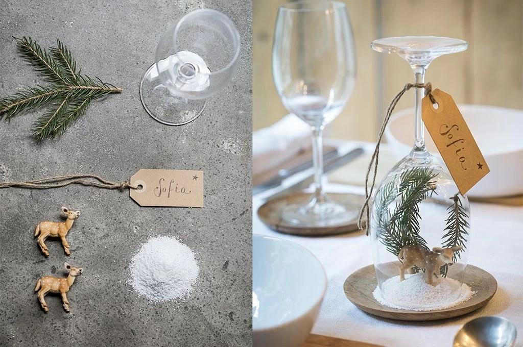 Idee segnaposto per la tavola di Natale  CasaFacile