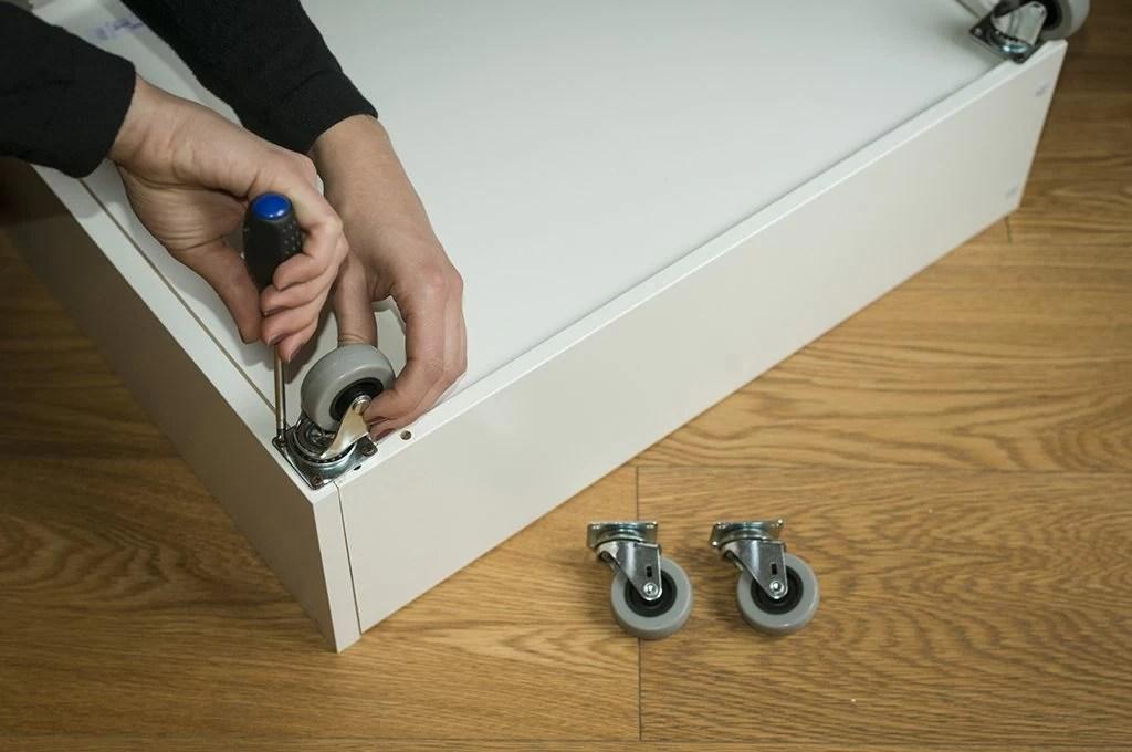 Come realizzare cassetti sotto il letto con ruote  CASAfacile