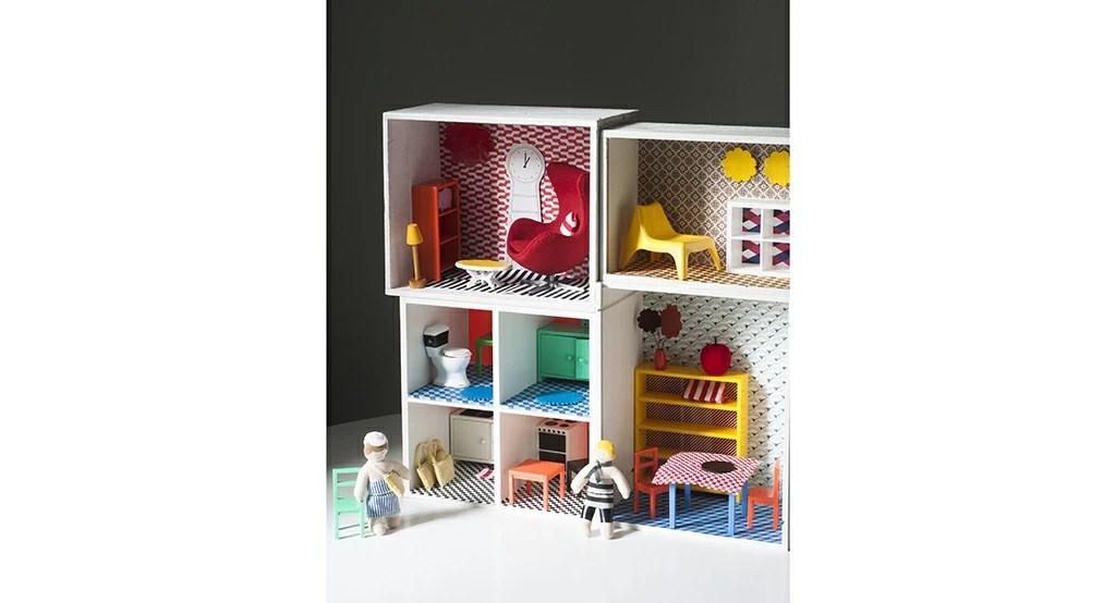 Una irresistibile casa delle bambole fai da te  CASAfacile