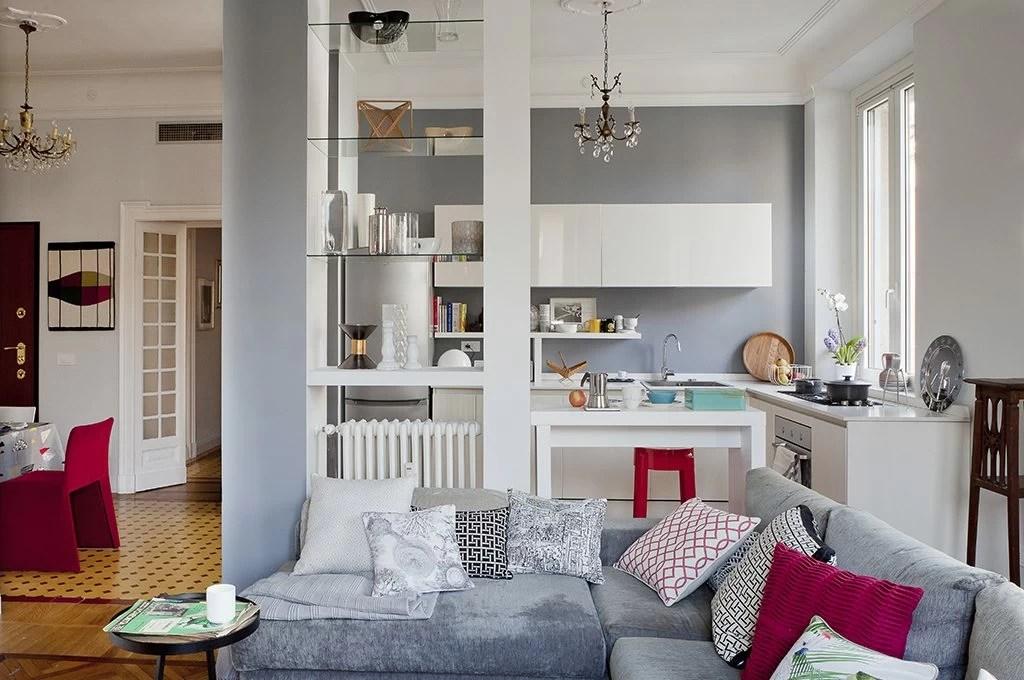 Open space come dividere cucina e soggiorno  CASAfacile