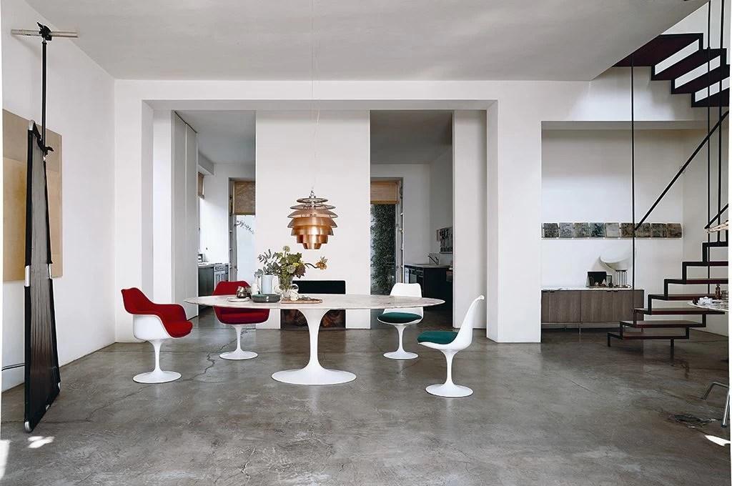 Icone del design il tavolo Tulip  CASAfacile