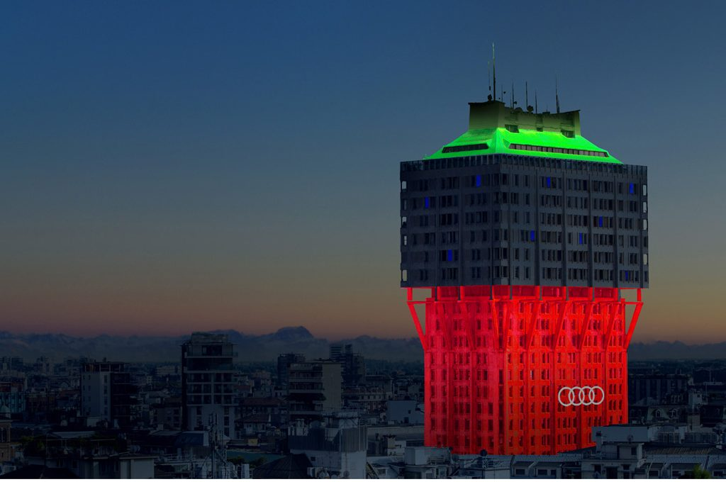 Ingo Maurer illumina la Torre Velasca  CASAfacile