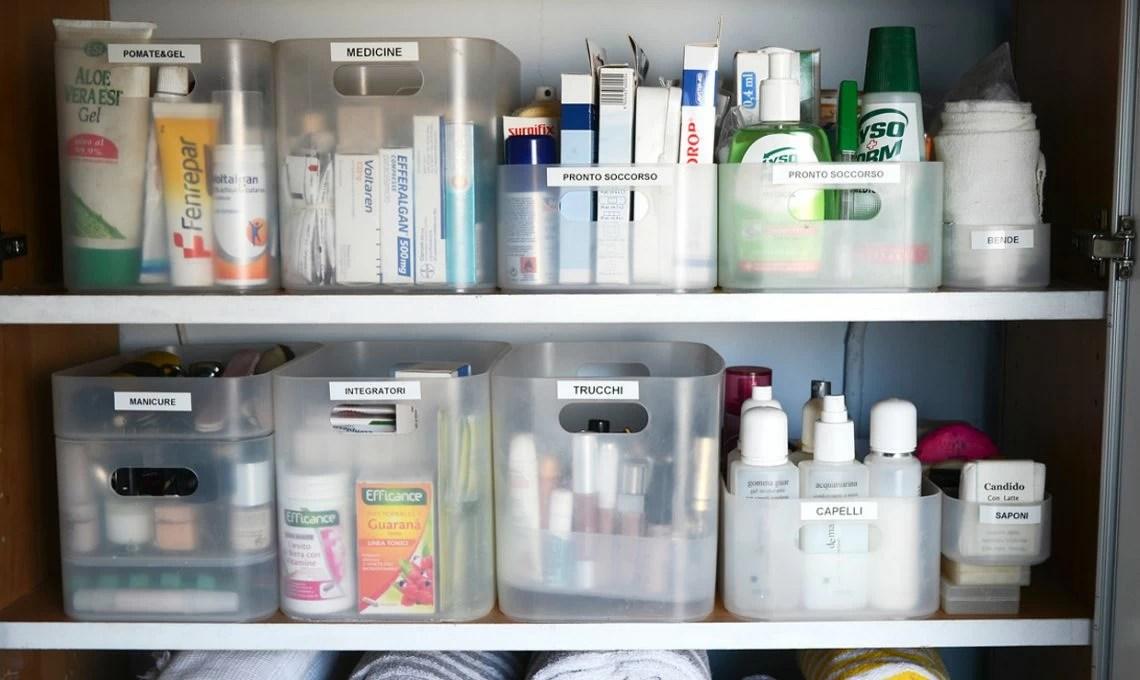 Come organizzare larmadietto dei medicinali  CASAfacile