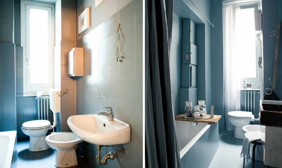 Come ristrutturare il bagno con il colore e idee faidate  CASAfacile