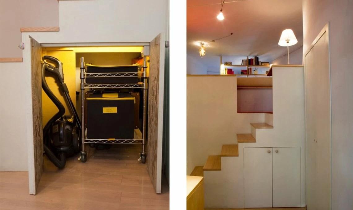 Il cubosoppalco sopra letto sotto cabina armadio