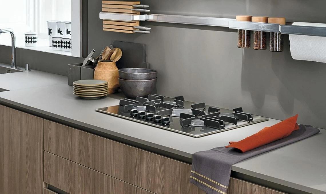Piano di lavoro in cucina il Fenix NTM  CASAfacile
