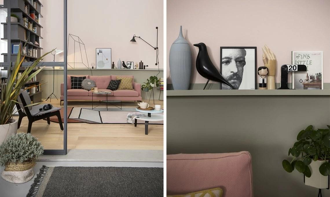 Il soggiorno si fa in due con langolo studio  CASAfacile