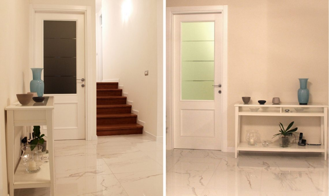 Prima e Dopo restyling totale di una casa anni 80