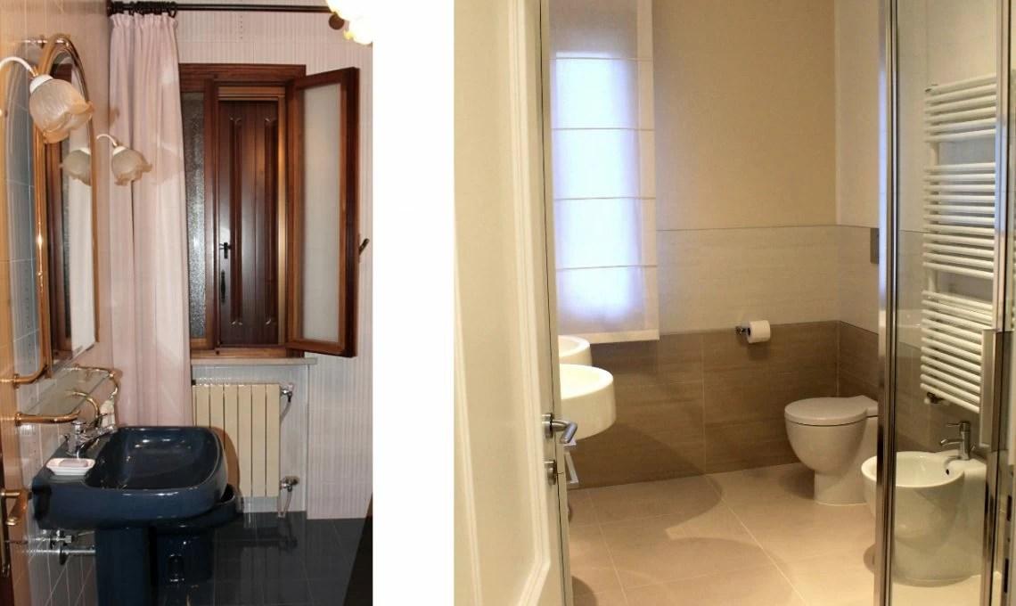 Prima e Dopo restyling totale di una casa anni 80  CASAfacile