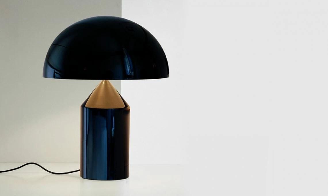 La lampada Atollo di Vico Magistretti  CASAfacile