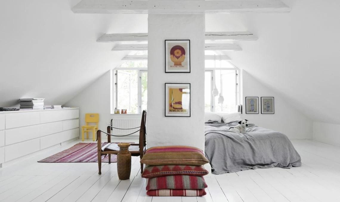 Pavimenti bianchi dettagli etnici e stile nordico  CASAfacile