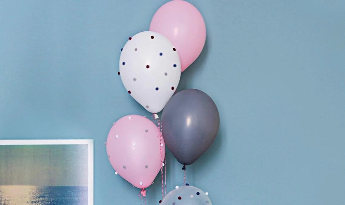 Decorazioni per la festa palloncini faidate  CASAfacile
