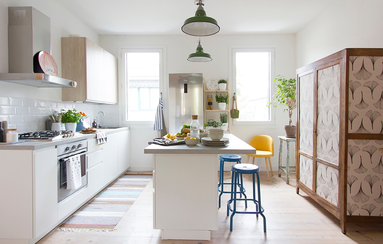 A casa della blogger stile nordico in un appartamento d