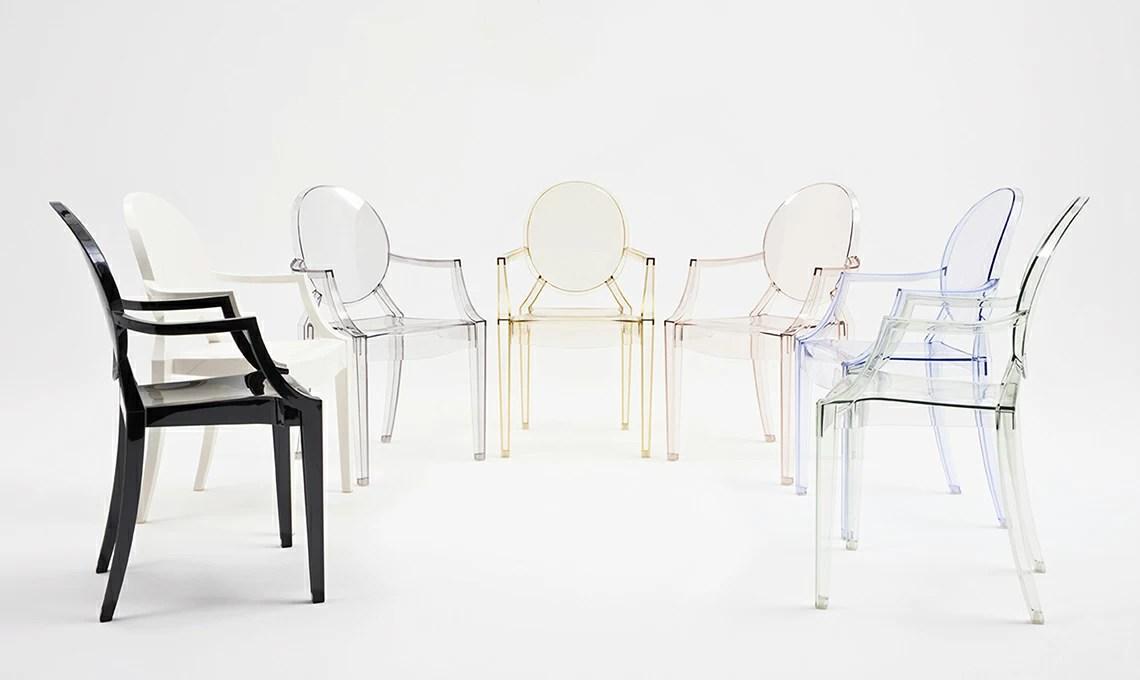 La sedia Kartell Louis Ghost di Philippe Starck  CASAfacile