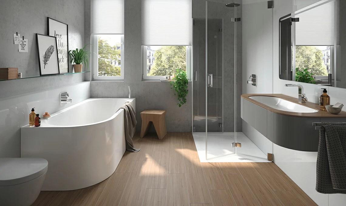 Idee per arredare un bagno moderno  CASAfacile