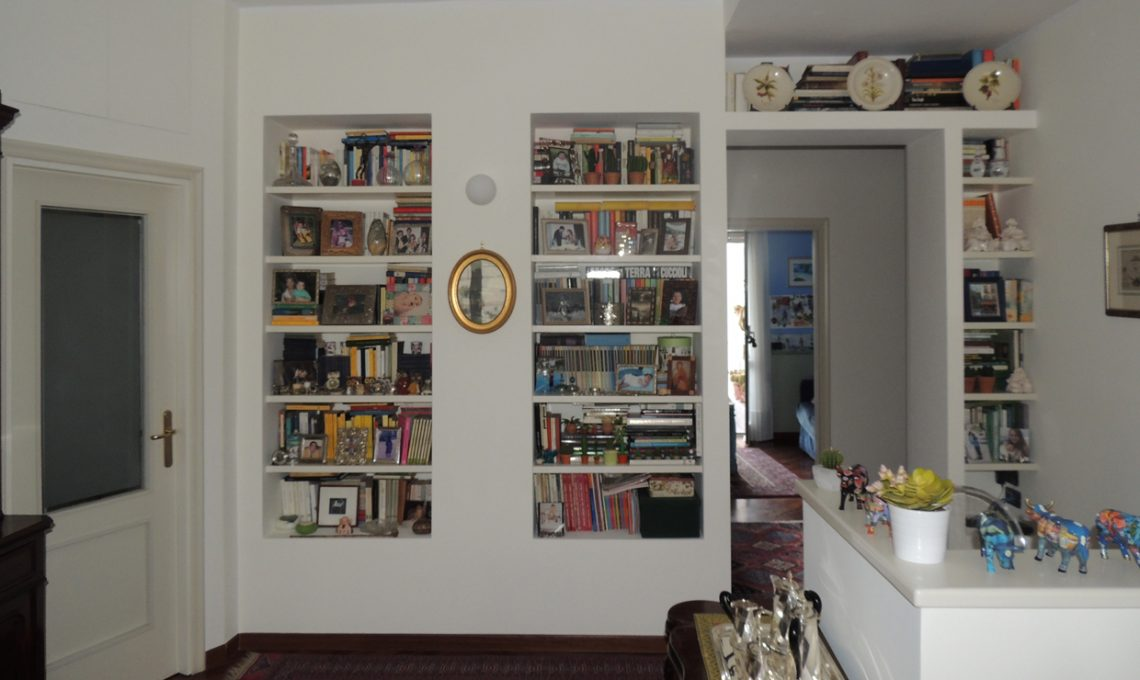 Come fare una libreria in cartongesso  CASAfacile