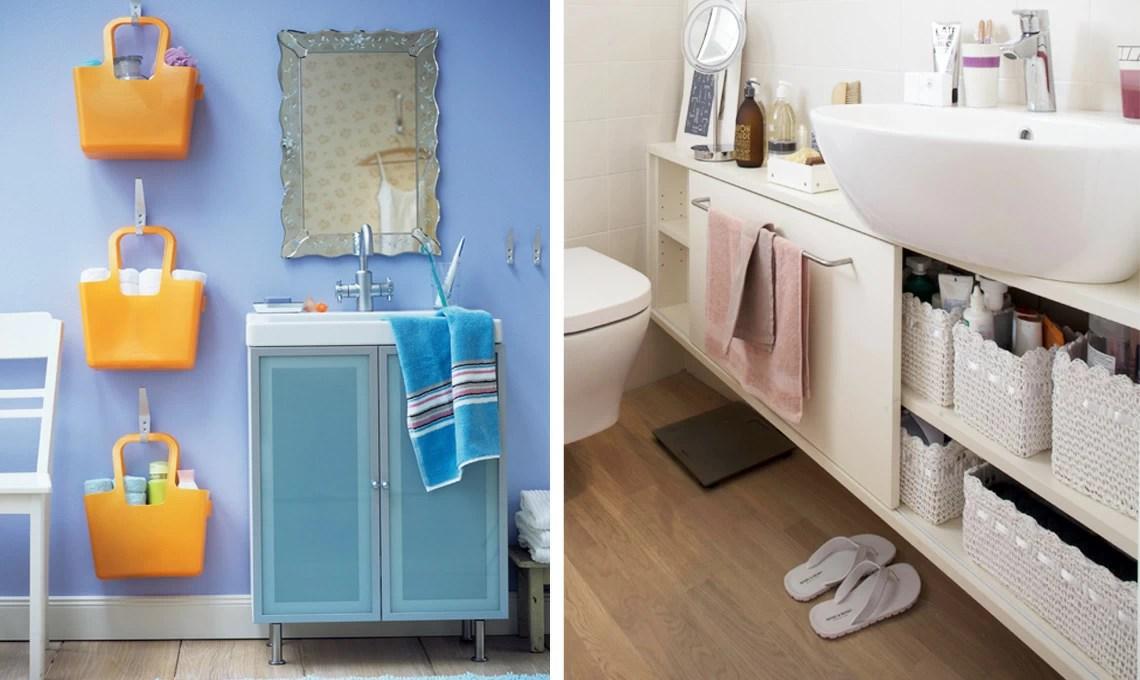 5 consigli per tenere in ordine il bagno  CASAfacile