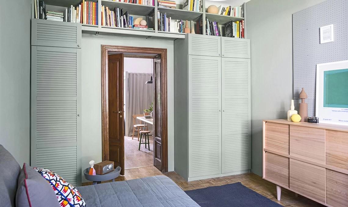 Trasforma il vecchio armadio e alleggeriscilo con il colore  CASAfacile