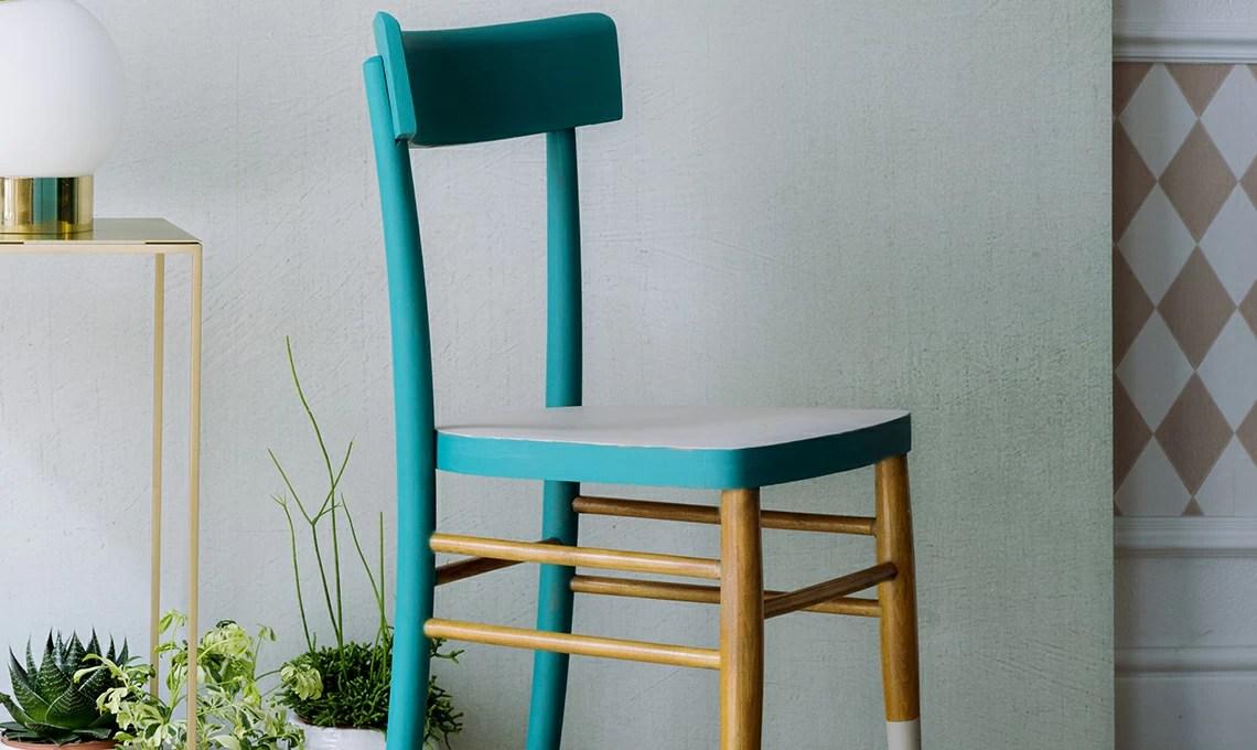 Rinnova una sedia con pi colori  CASAfacile
