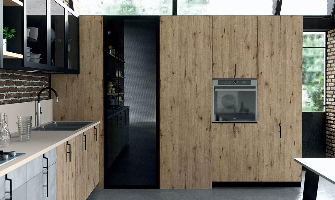 La cabina armadio che sfrutta langolo in cucina  CASAfacile