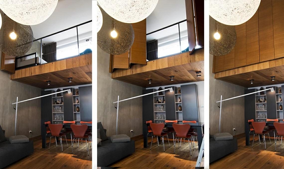 85 mq con la camera in pi sul soppalco  CASAfacile