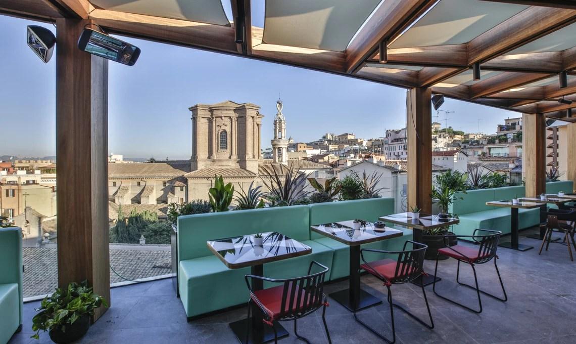 Terrazza Rinascente Roma Via Del Tritone