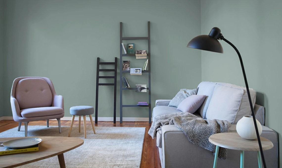 Un appartamento in affitto trasformato con il colore e