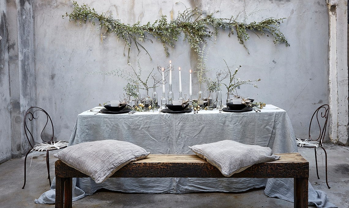 7 decorazioni di Natale da realizzare con bacche rami