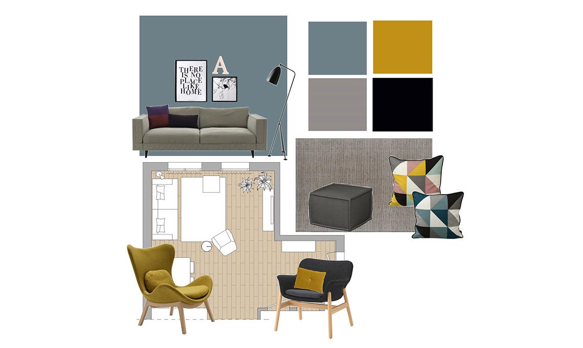 Consigli sui colori per dipingere le pareti del soggiorno