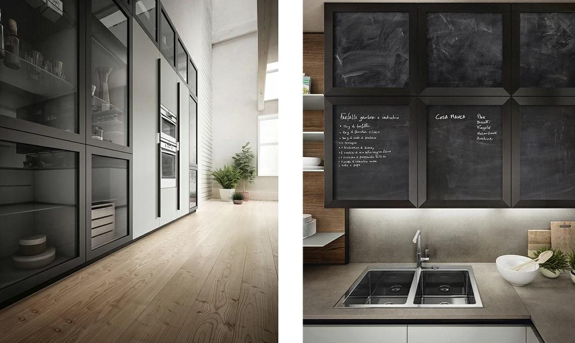 Cucine moderne a vista sul soggiorno. Cucina A Vista Scegli Mobili Uguali Anche Per Il Soggiorno Casafacile