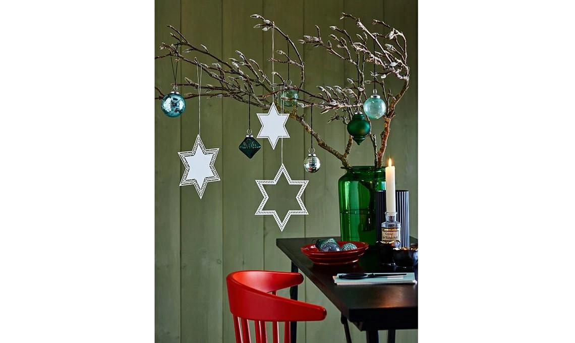 Stelle di carta per decorazioni di Natale faidate  CASAfacile