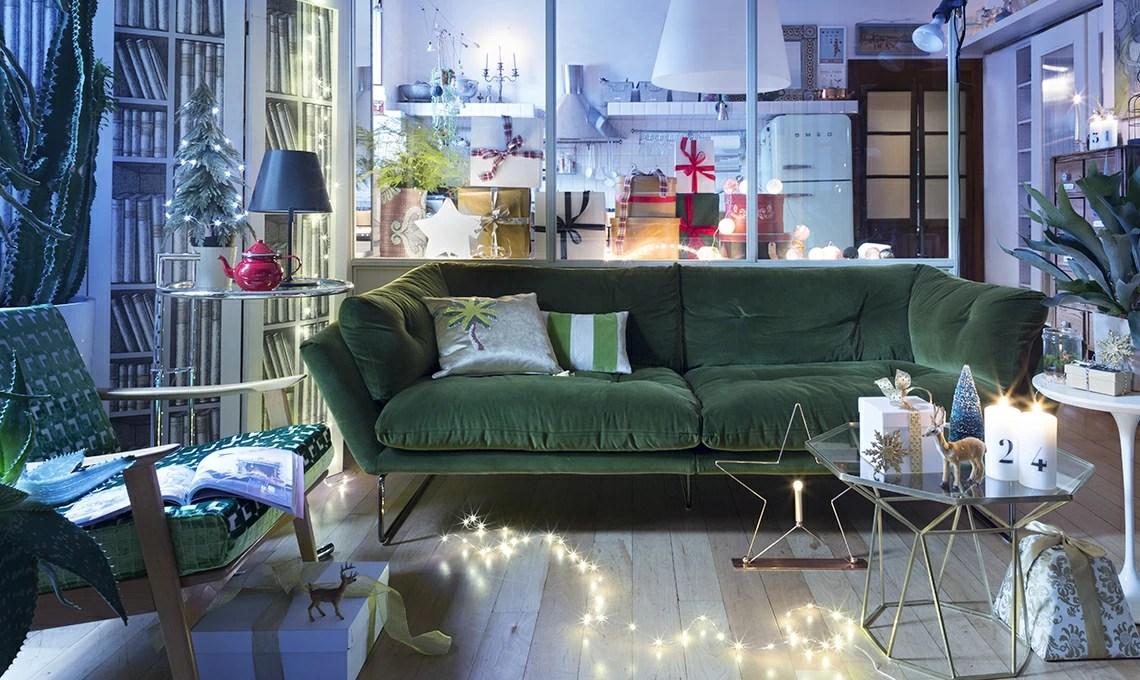 Il divano di velluto per cambiare il look al soggiorno  CASAfacile