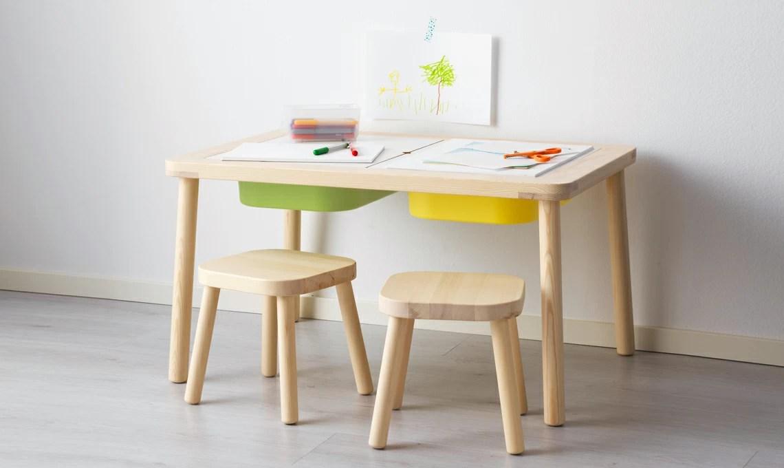 Tavoli e sedie per langolo creativo in cameretta  CASAfacile